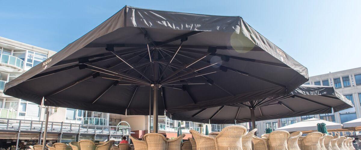 Stormvaste parasols